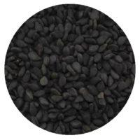 Sesamsaat schwarz-ungeschält 150g